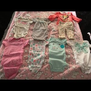 Baby clothes worn once to none